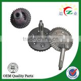 auto rickshaw parts steel spiral bevel gears driving bevel gear for tricycle