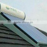 Integrated pressurized solar water heater 240L for bathroom