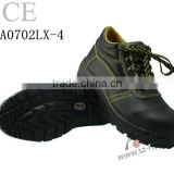 anti slip PU+TPU outsole cow leather CE steel toe work boots