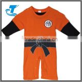 Dragon ball Goku Kungfu boys printed kids one piece jumpsuit
