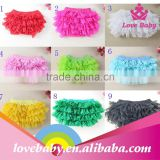 Baby Girl Ruffle Bloomers Diaper Cover potty training pants LBE4092024