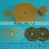 Fiberglass Reinforced Mesh Discs for Grinding Wheel