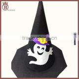 Cheap Children Adults Customized Carnival Halloween Felt Witch Hat
