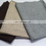 Pure Plain Pashmina Shawls & Scarves in Natural Colour & Dyed Colours