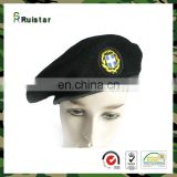 Wholesale Olive Green Army Police Beret Caps