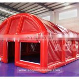 Commercial use red outdoor inflatable party tent for sale