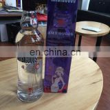vodka 80%,vodka french,organic vodka,Cabbed Vodka in UK Goalong can customize