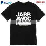 Small order accept 100% cotton big EU/US size custom t-shirt printing