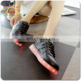 Stylish LED Light Up Shoes High Top Sneakers