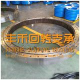 High Quality Slewing Bearing, Double Row Ball, with Gear