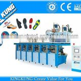 2014 Hot selling double color rubber sole injection machine/shoe sole making machine