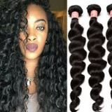 20 Inches Mixed Color Clip In Hair Extension 10-32inch Soft And Luster Chocolate