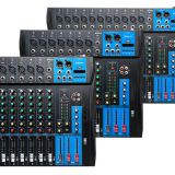 Bluetooth/USB Mixer with 6/ 8/12 channels