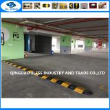factory sale 1000*340*50mm rubber speed bump Traffic One Way Speed Breaker Rubber striped speed bump & End caps
