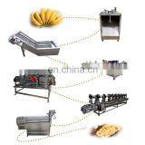 Banana chips processing machine