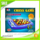 High quality plastic chess pieces board games for wholesale