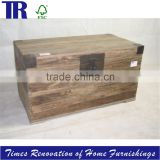 winston erclaimed elm trunk,long solid wood box,reclaimed timber box,home furniture