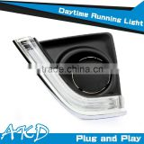 AKD Car Styling Toyota Corolla LED DRL 2014-2015 New Altis DRL Daytime Running Light Good Quality LED Fog lamp