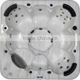 Hot tub/Outdoor Spa Model Baron for 7 person with CE, SAA, ROHS APPROVAL/ Balboa spaTouch & microsilk