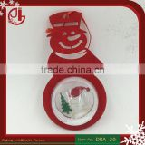 Christmas Tree Decoration Snowman Shape Clear Plastic Christmas Balls Styrofoam Particles Dropshipping