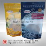 laminated customized dried fruit packaging plastic bag,stand up resealable heat seal dried fruit plastic bag