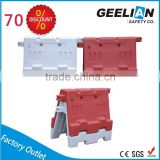 Huge Size Water Filled Rotational Moulding Plastic Traffic Barrier