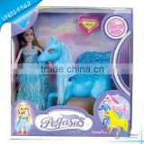 Popular Hot Soft Rubber Flying Horse Toys for Girls Kids