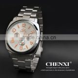Famous branded curren stainless steel watch men quartz wrist watch for whoelsale and OEM 012CMR