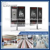 Factory direct sale high quality led outdoor advertising board Acrylic or Tempered glass Panel Material