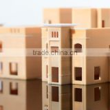 cutomized miniature architectural 3d printed model