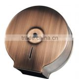 Copper stainless steel jumbo roll toilet tissue dispenser D-118J