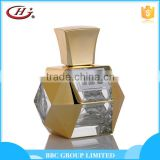 BBC Metallic Series-MF004 Top quality luxury male golden glass bottles natural brand perfume