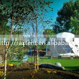 Geometric domedo big steel event me tent luxury outdoor zelte 6x6m winter tent roof top tent with factory price