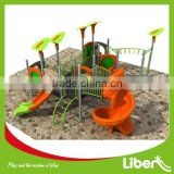 LLDPE Plastic Type Children New Design Playground, Outdoor Playground Equipment for City Parks