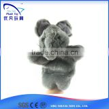 For promotion kids 26cm stuffed mouse soft 2015 popular nice beautiful baby toy hand puppet