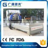 high reliability 1000w co2 laser die board cutting machine for carton die cutting