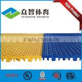 2016 low price best quality factory interlocking sports flooring for basketball / badminton / tennis