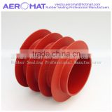 Soft silicone rubber parts as protective sealings for transformers equipment industry
