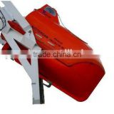 Comply with SOLAS Marine free fall fiberglass lifeboat with davit for sale