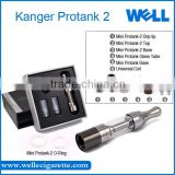 STOCK!!!Latest Glassomizer Original Kanger Mini Protank II Protank 2 Clearomizer best mini e cigarette Atomizer Protank mini II