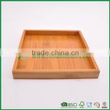FB1-3083 hot sales square bamboo serving trays gongfu tea tray                                                                         Quality Choice