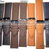 defferent size,defferent colors leather watch straps