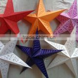lot of 250 pcs paper star lamps from india