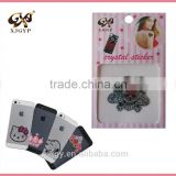 crystal tattoos and rhinestone stickers/rhinestone crystal sticker/acrylic rhinestone sticker sheets