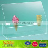 Acrylic Five Cone Ice Cream Cone Holder
