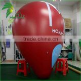Custom Hot Sale Air Helium Large Tapered Helium Balloons , Inflatable Red Cone Ball With Factory Price