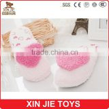 customize kids indoor plush slippers cute plush slippers chilren winter indoor slippers