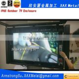 XAX30TV full hd floor standing wif iinch 3g network advertising display samsung tft lcd panel metal outdoor tv enclosure