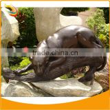 Bronze Panther on a Branch Sculpture Home Decoration Panther Sculpture Wild Animal Sculpture Bronze Animal Sculptures
