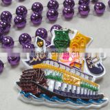 Mardi Gras Beads Necklace Wholesale Round Beads Light Up Beads